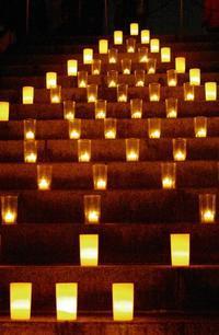 Candle Night in mikawajima2 - はーとらんど写真感
