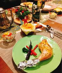クリスマスは骨つきチキンで簡単ハーブ焼き - Coucou a table!      クク アターブル!