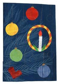 私が小さい頃飾ってたクリスマスツリー - 手製本クリエイター&切絵コラージュ作家 yukai の暮らしを愉しむヒント