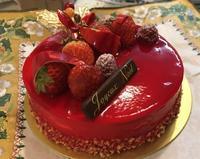今年のクリスマスケーキは... - ラベンダー色のカフェ time