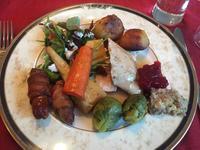 クリスマスディナー 食事編 - 黒豆日記