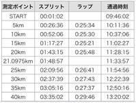 なんとか耐えた!加古川初フルマラソンの記憶 - My ブログ