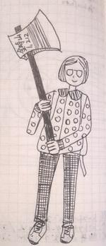 【ハイキング】金時山登頂 - たなかきょおこ-旅する絵描きの絵日記/Kyoko Tanaka Illustrated Diary
