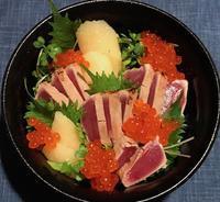 ちょっと豪華な鮪の漬け丼&体調不良の時の夕食2品 - やせっぽちソプラノのキッチン2