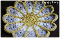 マーガレットのドイリーを編みました♪ - Angelic Anne