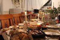 2017クリスマスホームパーティ♪恒例ビュッフェにアヒージョ登場 - neige+ 手作りのある暮らし