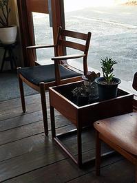 teak planter - hails blog