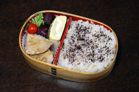 マグロステーキ - 庶民のショボい弁当