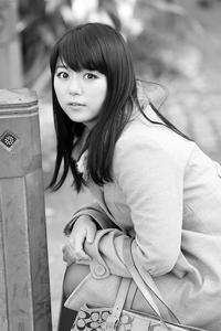 堀川あみちゃん206 - モノクロポートレート写真館