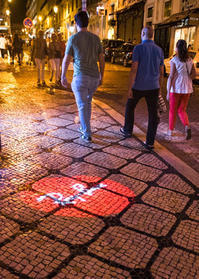 リスボン探訪(夜の街角 4-6 ) - 写真の散歩道