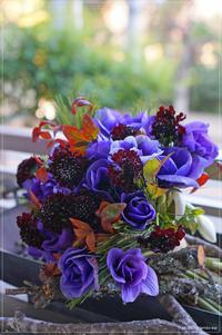 Bouquet raffiné des anémones - * Spice of My Life *