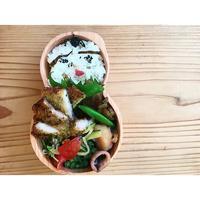 豚ロース香草パン粉揚げ焼きBENTO - Feeling Cuisine.com