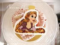 6歳のバースデーケーキ 〜ラプンツェル〜 - cuisine18 晴れのち晴れ