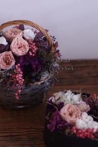 今年の人気のお花で締めくくり。 - プリザーブドフラワーレイラ ショップブログ