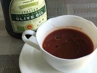 温トマトジュースにオリーブオイルかけ - 幾星霜