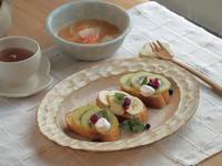 バゲットで朝ごはん - 陶器通販・益子焼 雑貨手作り陶器のサイトショップ 木のねのブログ