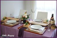 古希のお祝い&忘年会&お正月テーブルコーディネート - ~Little Happy~