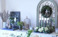 12月 Living flower キャンドルアレンジ - Le vase*  diary 横浜元町の花教室