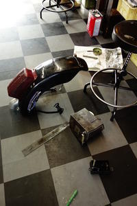 月・火・水曜日の授業風景 - Vintage motorcycle study