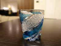 江戸切子のロックグラス - 風任せ自由人