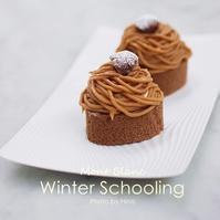 【スクーリング実習】モンブランとレモンの段々ケーキ - Cucina ACCA(クチーナ・アッカ)