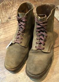 1月2日入荷!!WW21944年U.S ARMY , AIR FORCE M-43 service shoes ! TYPE 3 Rough Side Out - ショウザンビル mecca BLOG!!