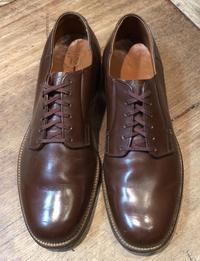 1月2日入荷!!50s〜Brown military service shoes ! サービスシューズブラウンカラー - ショウザンビル mecca BLOG!!