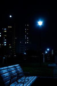 月夜 / X-E1 + KIPON IBERIT 35mm f/2.4 - minamiazabu de 散歩 with FUJIFILM