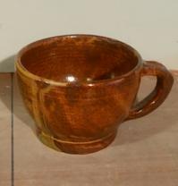 コーヒーカップです。 - 陶芸教室 なすびの花