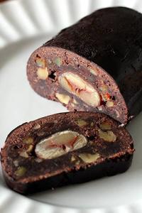 パン教室で「チョコと栗のシュトーレン」 - Takacoco Kitchen
