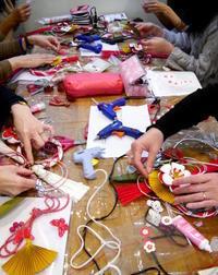 お正月飾り2日目~パータパートさんにて~ - La Petite Poucette    ~神戸よりペーパーアートの作品と講座のご紹介~