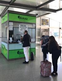 秋のヨーロッパ旅18. 初めてのスペイン・バスク地方ビルバオ空港から市街へバスで移動 - マイ☆ライフスタイル