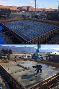 Le Chien Feliz 基礎工事で仕事収め - 安曇野 設計事務所の家つくり