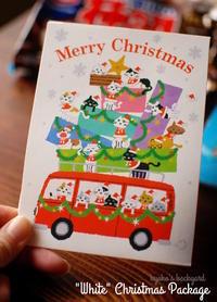 信州からの「ホワイト」クリスマス便♪ - Kyoko's Backyard ~アメリカで田舎暮らし~