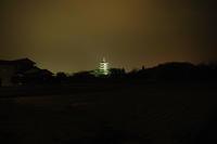 No  129  備中国分寺五重塔ライトアップ(12月29日) - カメラをもってぶらぶら散歩中