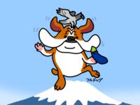 ダンシングへなちょこフルドッグメルマガに登場 - 動物キャラクターのブログ へなちょこSTUDIO
