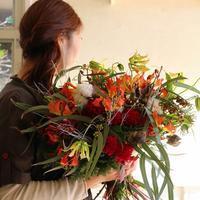 秋色のナチュラルブーケ - あなたらしい花あるくらしを共に描く 花色空間Vertu