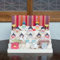 小黒三郎さんの組み木の雛人形について (2018年) - curiousからのおしらせ