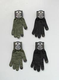 BLACK SHEEPニット手袋 - 『Bumpkins putting on airs』