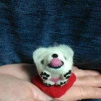 ペキニーズゴン太 - 羊毛フェルト男(羊毛フェルトマン)