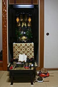 年末最後の、お掃除はお仏壇から・・。 - 今夜の夕食