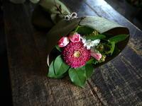 ご自宅用の花束。2017/12/31。 - 札幌 花屋 meLL flowers