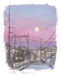 2018年のはじまり。 - 湘南・鎌倉・海の絵〜画家・亀山和明のblog