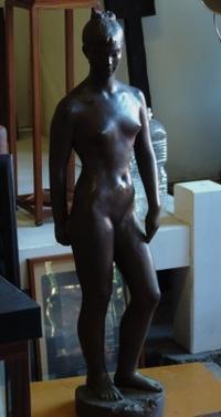 ブロンズ裸婦像 - AKIANTIQUE アキアンティーク