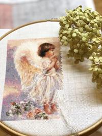 【趣味の刺繍】亀の歩みのHAED。 - 浜松の刺繍教室 l'Atelier de foyu の 日々