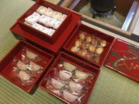 家族初釜2018 御菓子の重 - 和のお菓子作り