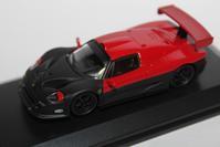 1/64 Kyosho Ferrari Orginal (Hobby Route) F50 GT - 1/87 SCHUCO & 1/64 KYOSHO ミニカーコレクション byまさーる