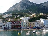 フェリーに乗ってカプリ島へ (Capri 1) - エミリアからの便り