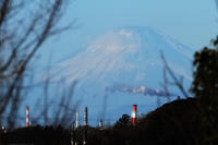 正月の富士山 - またいつか旅に出る