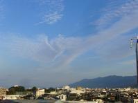 今日の耳納連山 - 呑むさん蝶日記